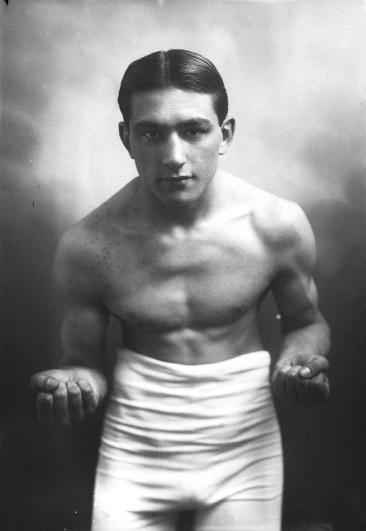 Henry VILLAIN (1891-     ), (Boxe, Belgique)