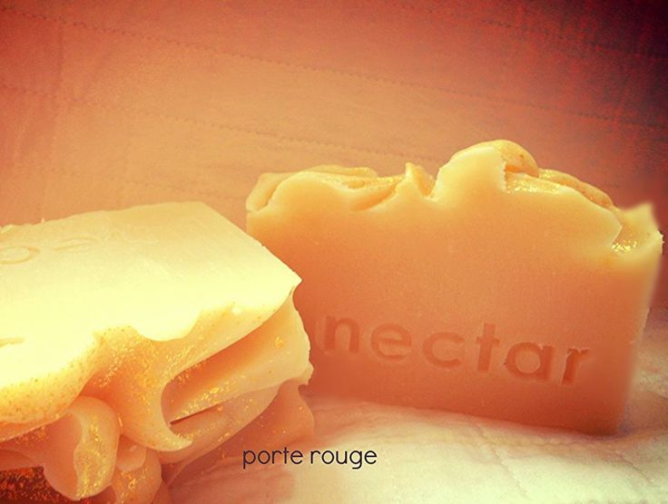 Lizzie Arden's famous Red Door is featured in this luscious handmade soap for everyday luxury in your own home! www.nectarbodyandbath.com