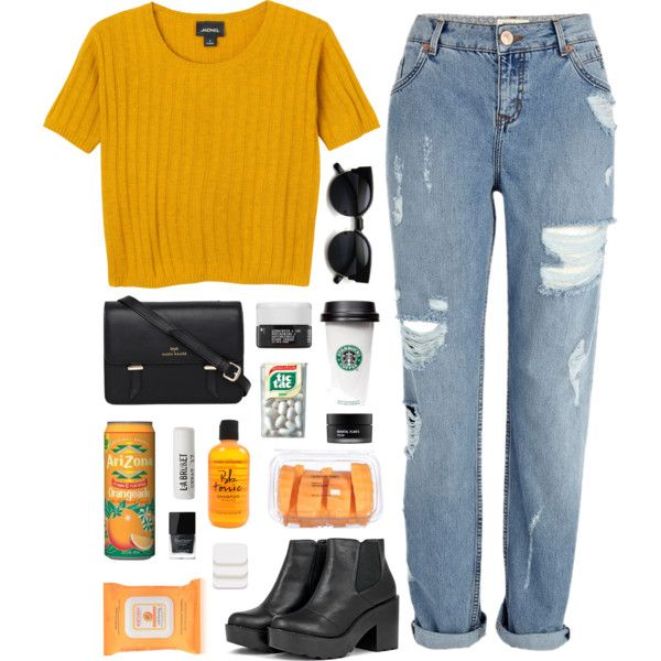 A fashion look from July 2015 featuring Monki t-shirts, River Island jeans and Sloane handbags. Browse and shop related looks.
