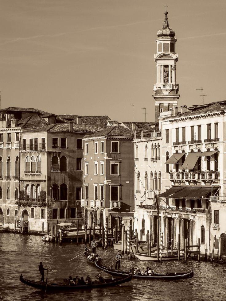 Venice, Venezia in sepia (edel) by Lidia, Leszek Derda on 500px