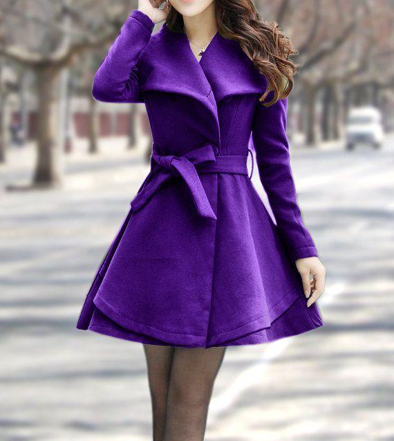 1000  ideas about Purple Jacket on Pinterest   Purple coat Purple