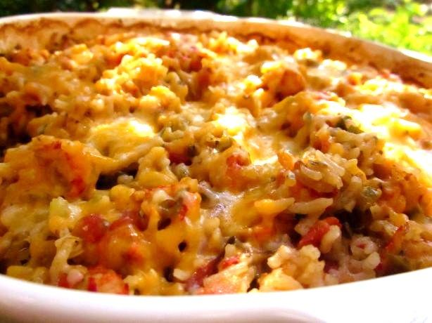 Cajun Delights: Spicy Cajun Seafood Casserole  Made this 2-6-15 great!  This one is in NOLA but we ate at a sister restaurant in Charlestown, 2004!
