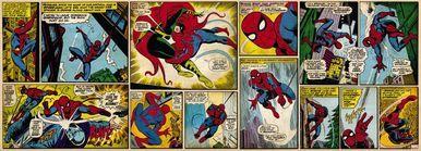 Marvel Comic Spiderman Photomural