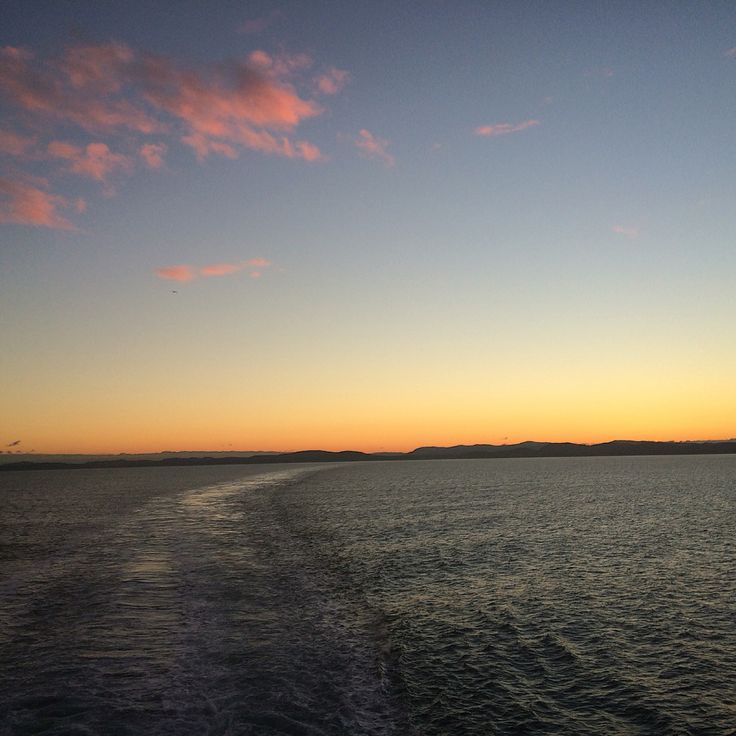 Sunset @ Ferry from Victoria To Vancouver