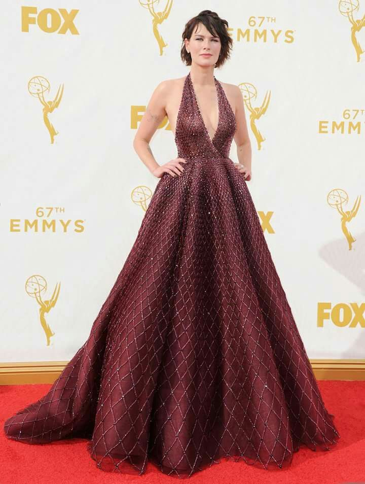 Lena Headay by Zuhair Murad @Emmys2015