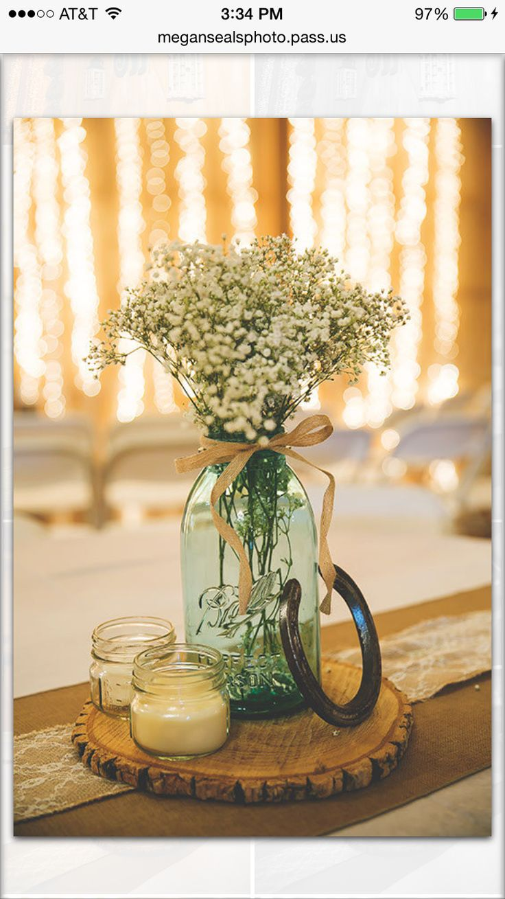 Best ideas about western wedding centerpieces on