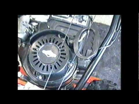 how to change a snowblower to motor boats