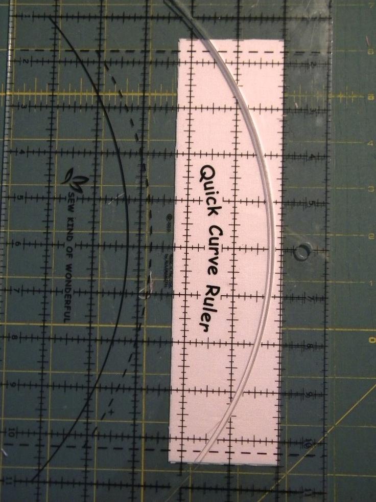 125 Best Quilts Quick Curve Ruler Images On Pinterest