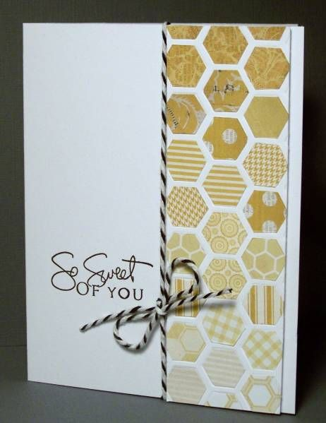 Color Blocked Honeycomb