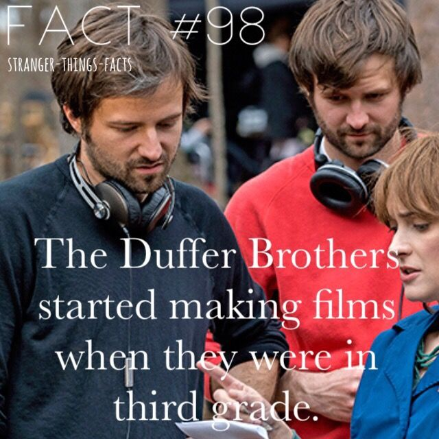 Duffer brothers, stranger Things Facts