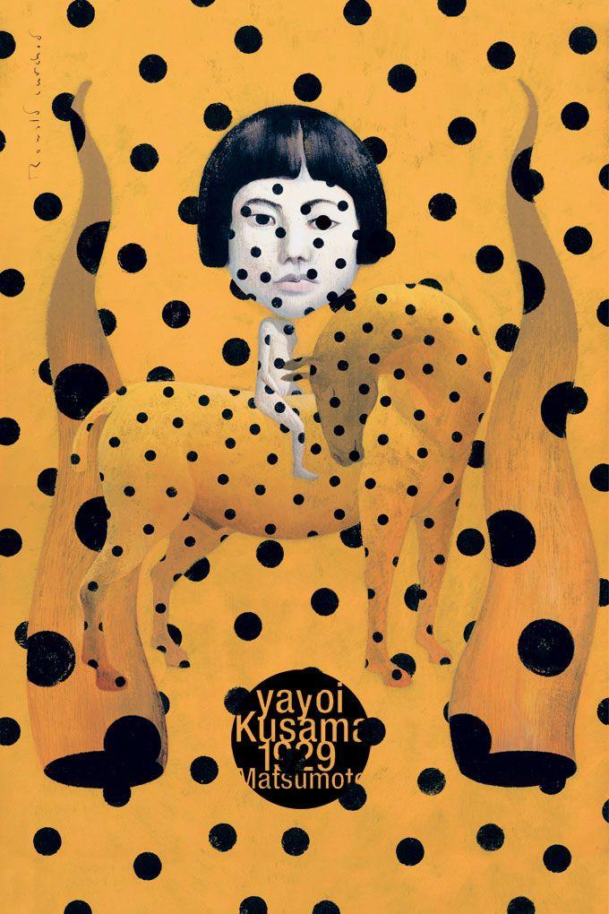 Ronald Curchod - Yayoï Kusama
