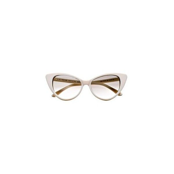 Lunettes de soleil Tom Ford - Marie Claire ❤ liked on Polyvore