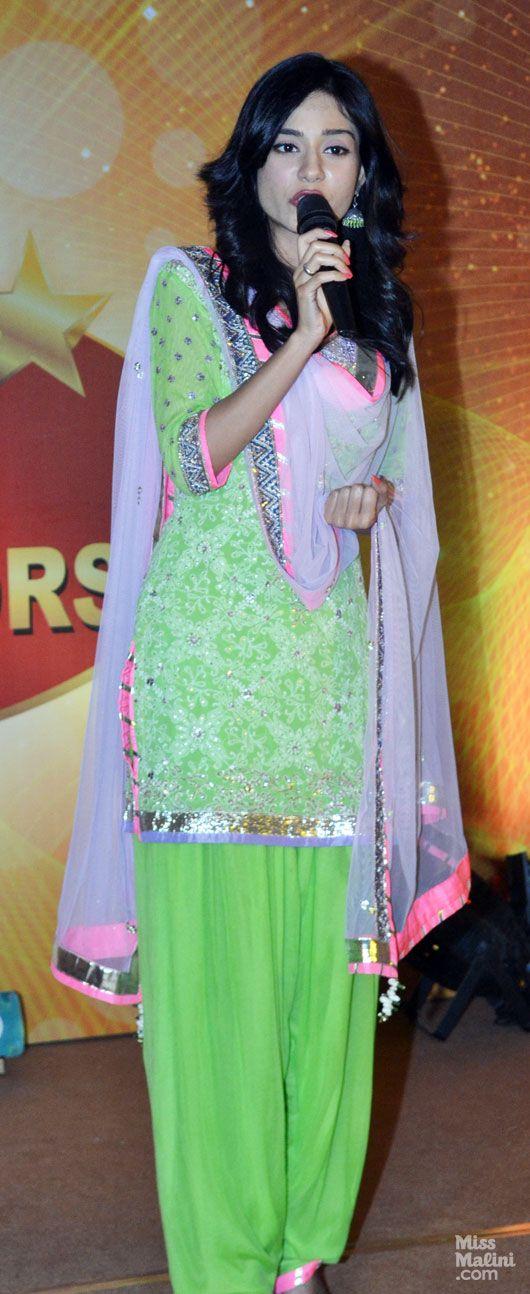 Amrita Rao in Kanika Kedia Patiala Suit  https://www.facebook.com/KediaKanika