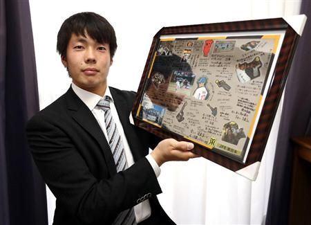 阪神・田面、ベスト体重で古巣に恩返しだ
