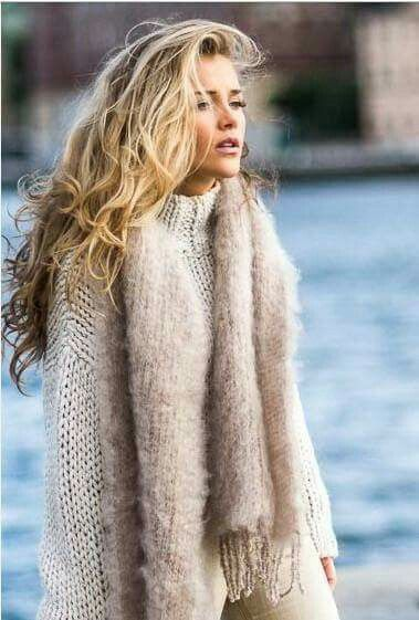 Chunky and fuzzy items to keep you warm in the chilly winter temps