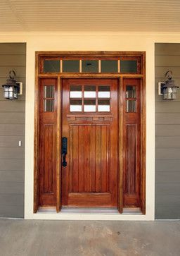 Traditional Style Front Doors | Craftsman Style Front Doors Design Ideas, Pictures, Remodel, and Decor