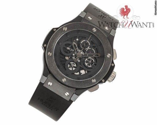 "Hublot Big Bang Aero Bang ""All Black"" Chronograph 44mm Ceramic Special Edition Ref. 310.CM.1"