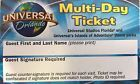 2 Park 14 Day Explorer. Universal And Islands Of Adventure Ticket Park To Park