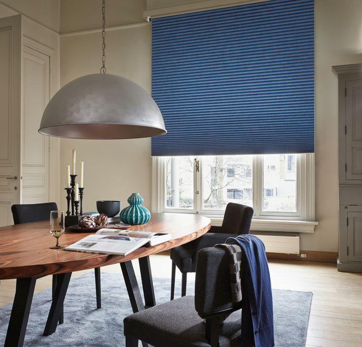 Simpel, men elegant   luxaflex rullegardiner i dueblå. #blue #blå ...
