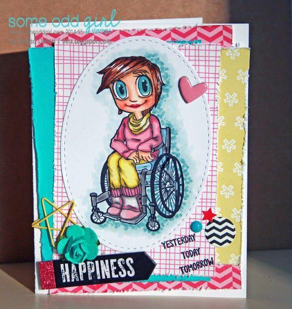 Wheelchair Kaylee! Wonderful image. MelissaO - Needful Things