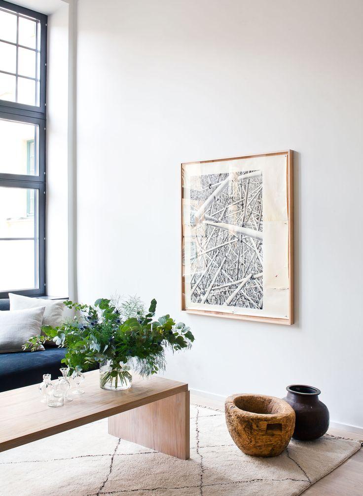 Radiofabriken / Industriverket #oscarproperties Oscar Properties, Oscarproperties, pots, krukor, table, windows, window, table, painting, flowers, flower, art