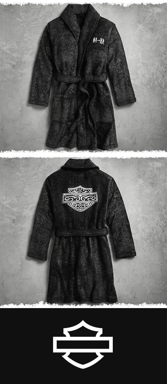 Warm and luxurious. | Harley-Davidson Women's Lounge Robe