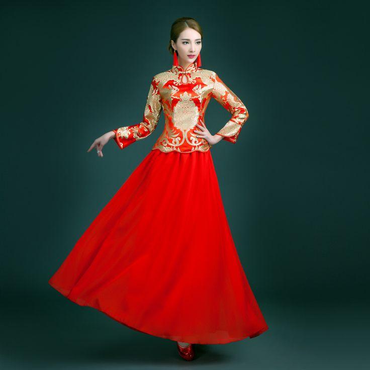 73 best Wedding - Chinese Wedding Dress images on Pinterest ...