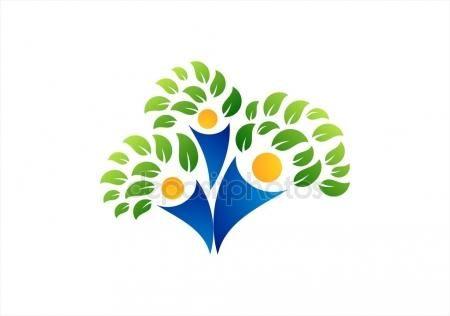 #Family #tree #logo #families #parent #kid #parenting #healthcare #education #symbol #icon #vector #design - https://depositphotos.com/portfolio-3904401.html?ref=3904401