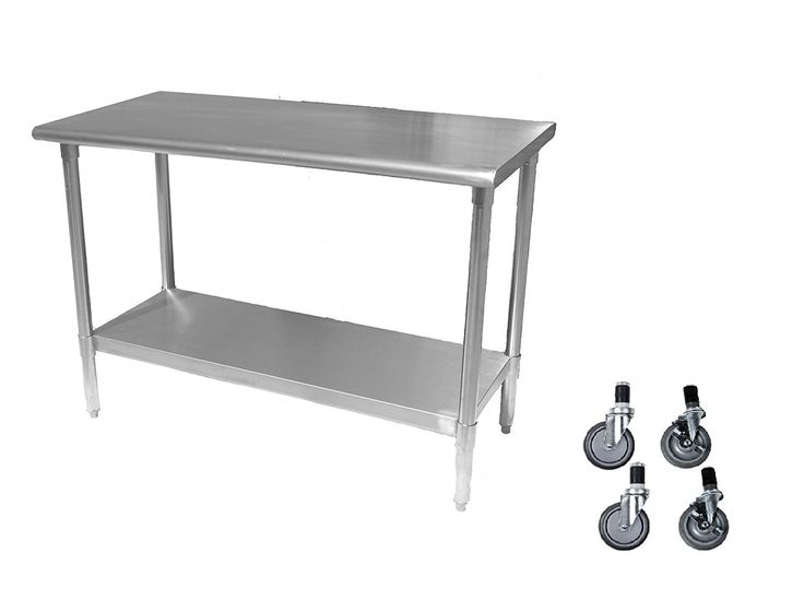 Best 25 Stainless Steel Work Table Ideas On Pinterest Stainless Steel Island Garden Shop And