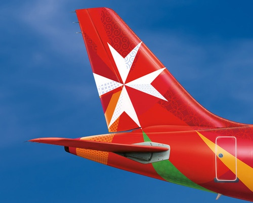 The new Air Malta livery