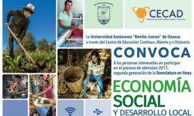 Licenciatura en Economía Social y Desarrollo Local, opción educativa de la UABJO
