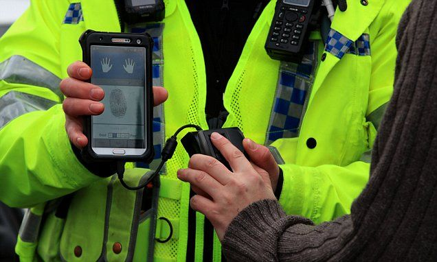 West Yorkshire police trial 'revolutionary' mobile fingerprint sensors to identify criminals on the streets in less than a minute