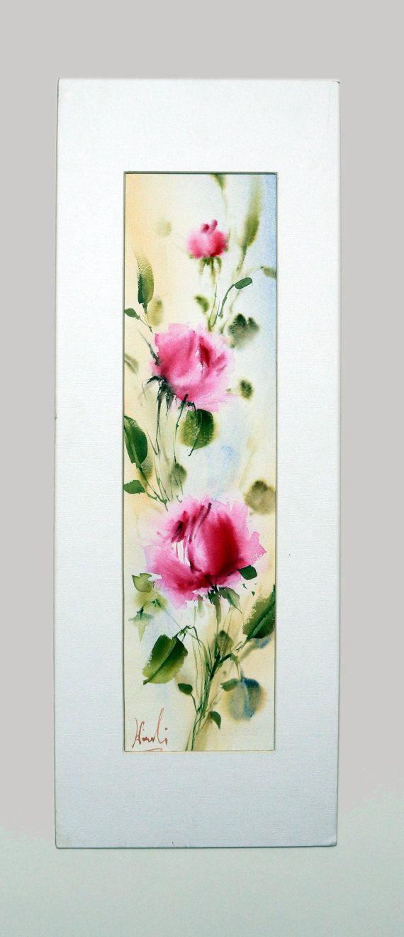 Les 25 Meilleures Id Es De La Cat Gorie Rose A L 39 Aquarelle Sur Pinterest Peinture De Fleurs
