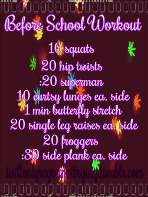 ladyknucklesinshape:  iwillonlyregretnottrying: Before school workout.  I need to go do this even though I don't have school.