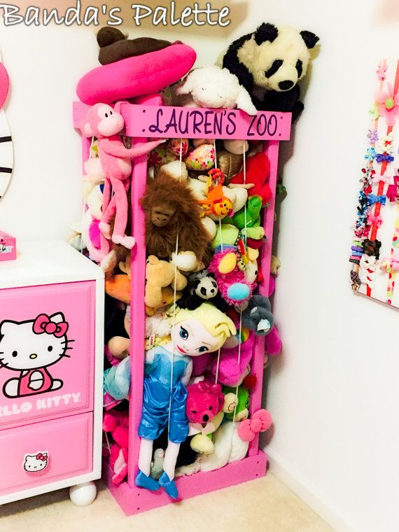 17 Best Ideas About Stuffed Animal Holder On Pinterest