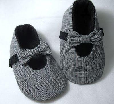 Fofuras de feltro...: sapatinhos de bebe