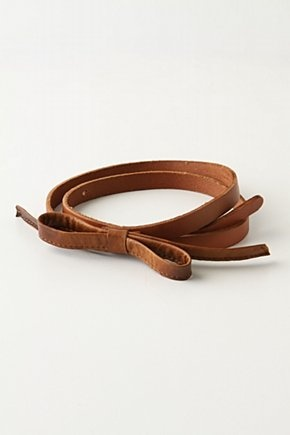 soft bow belt by anthropologie