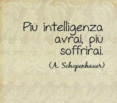 Intelligenza E Sofferenza