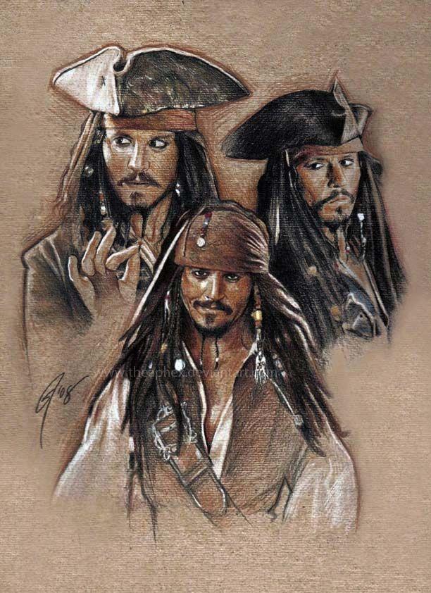 Jack Sparrow expressions by GabeFarber.deviantart.com on @deviantART