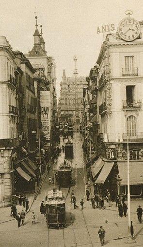 Bonita foto antigua de MADRID