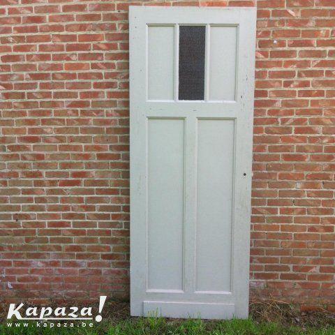 Binnendeur, jaren 50 / 60, Deuren en ramen, Varendonk | Kapaza.be