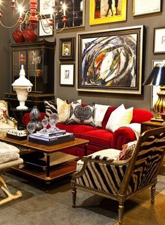 Gary Riggs Home Dallas Tx Eclectic Style Decor