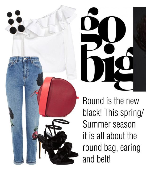 """""""All round everything!"""" by alana-alford on Polyvore featuring Topshop, Diane Von Furstenberg, Marco de Vincenzo and Cara Accessories"""