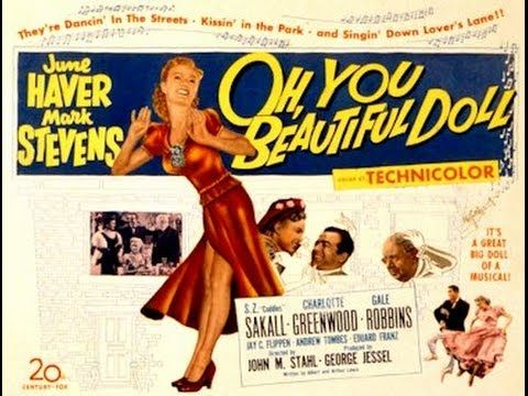 June Haver & Mark Stevens - Oh, You Beautiful Doll - YouTube
