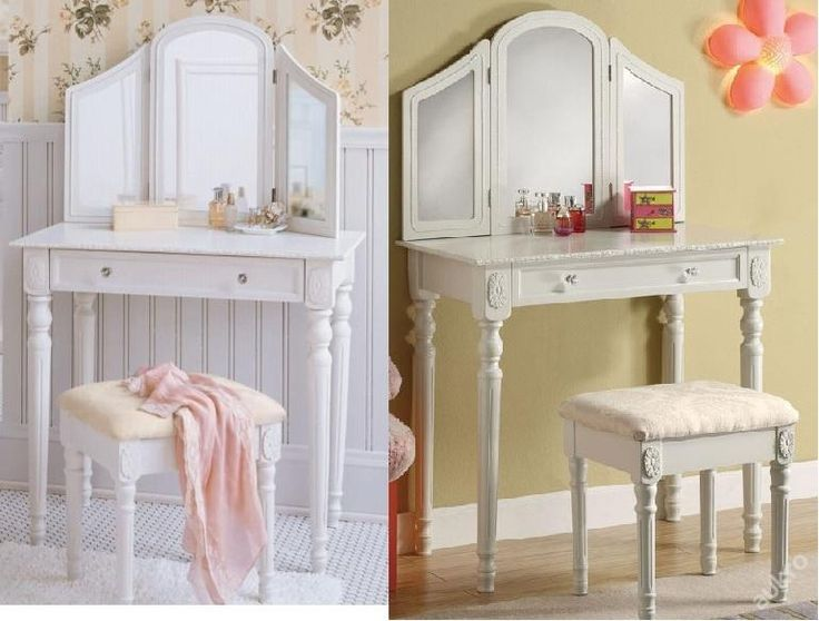 toaletni stolek se zidlickou zrcadlo zaruka novy