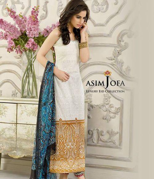 Asim Jofa Luxury Lawn Eid Collection 2015 AJL_5A