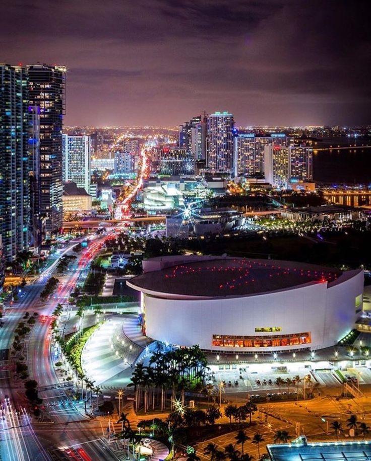 American Airlines Arena Miami by @oasisjae #miami #florida #miamibeach #sobe #southbeach #brickell #Miami