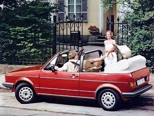 Volkswagen Golf Cabrio (1979 – 1988).