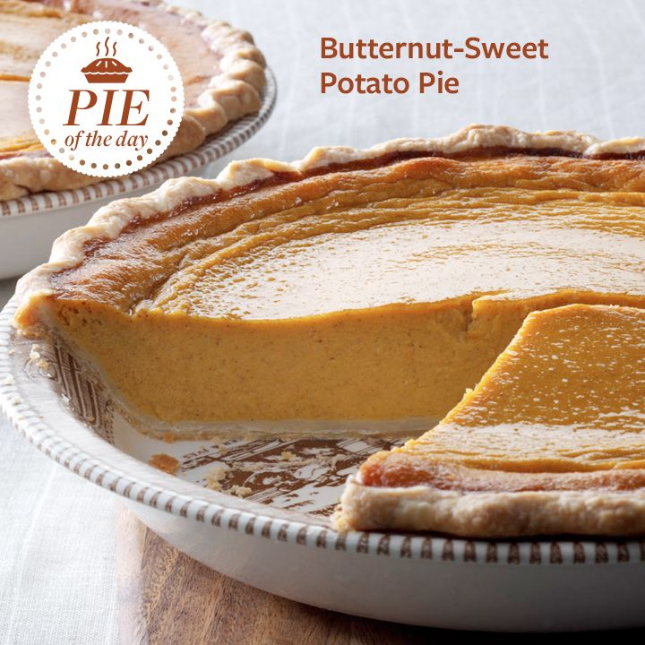 Butternut-Sweet Potato Pie Recipe from Taste of Home -- shared by Mary Ann Dell, Phoenixville, Pennsylvania