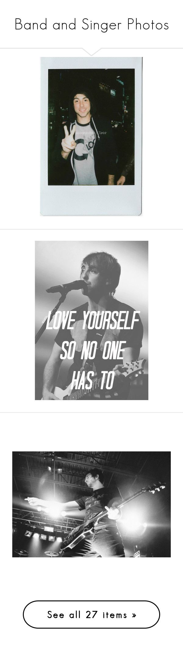 School of rock jack black quotes quotesgram -  Band And Singer Photos By Alltimegabi Liked On Polyvore Featuring All Time Low